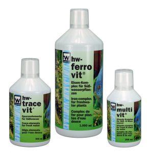 hw Wiegandt, hw-tracevit 500 ml, hw-multivit 250 ml, hw-ferrovit 1.000 ml