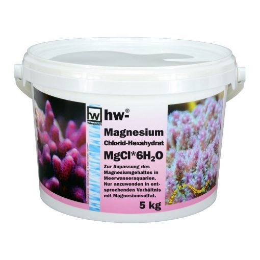 hw Wiegandt, hw Magnesiumchlorid Hexahydrat, PP-Eimer mit 5 kg