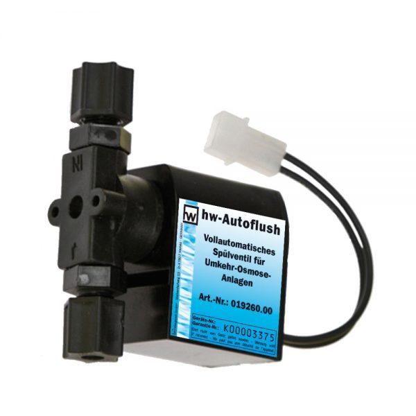 hw autoflush automatisches Spülventil für Umkehr-Osmose-Anlagen