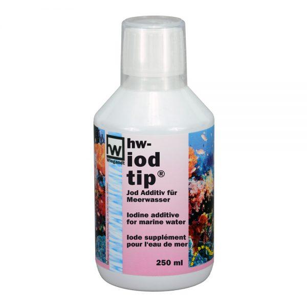 hw Wiegandt, hw iodtip, PE-Flasche mit Messbecher, 250 ml Inhalt