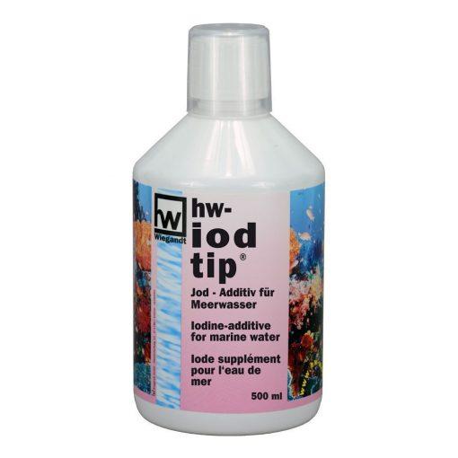 hw Wiegandt, hw iodtip, PE-Flasche mit Messbecher, 500 ml Inhalt