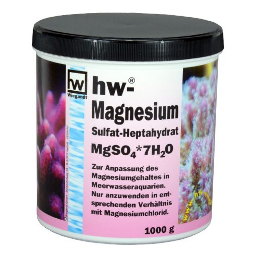 hw Wiegandt, hw Magnesiumsulfat-Heptahydrat, Kunststoffdose mit 1000 g