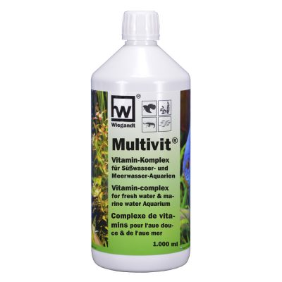 hw Wiegandt, hw multivit, 1000 ml PE-Bottle with 20 ml measuring cup