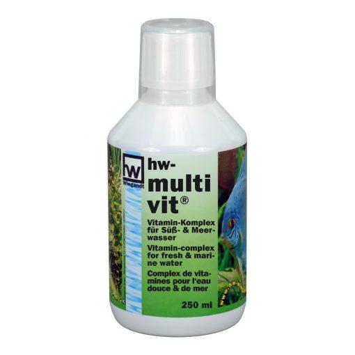 hw Wiegandt, hw multivit, 250 ml PE-Flasche mit 20 ml Messbecher