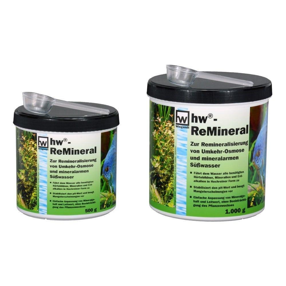 hw Wiegandt ReMineral zur re-mineralisierung von Osmose-Wasser