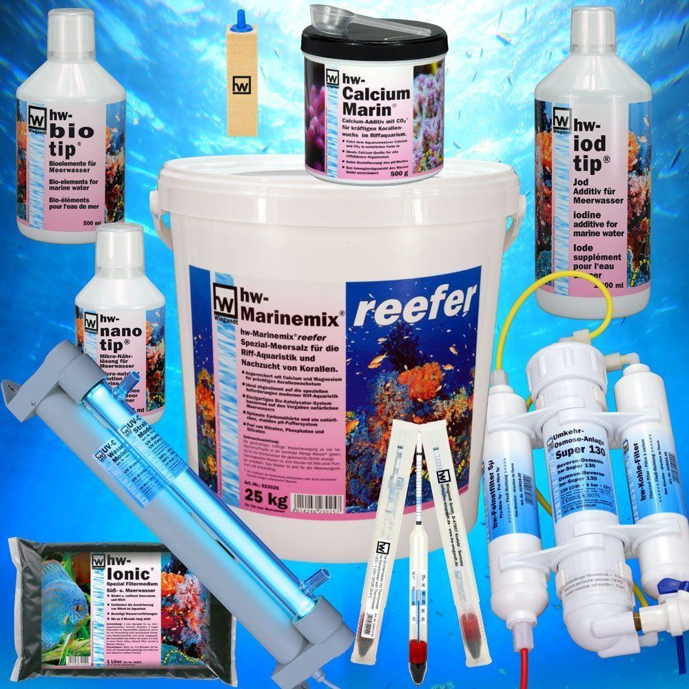 hw Produkte für Riffaquarien und Meerwasseraquarien