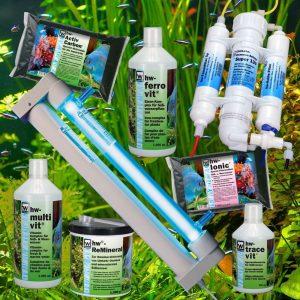 hw Wiegandt, Produkte für Süßwasseraquaristik